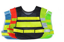 Reflective vest working clothes provides high visibility day & night for running cycling walking etc. warning safety vest T003(China (Mainland))