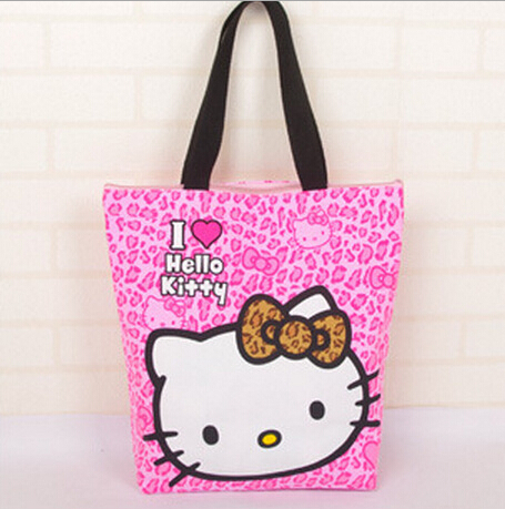 New Com  Buy Fashion Women Bag Nylon Hello Kitty Cute Shoulder Bag