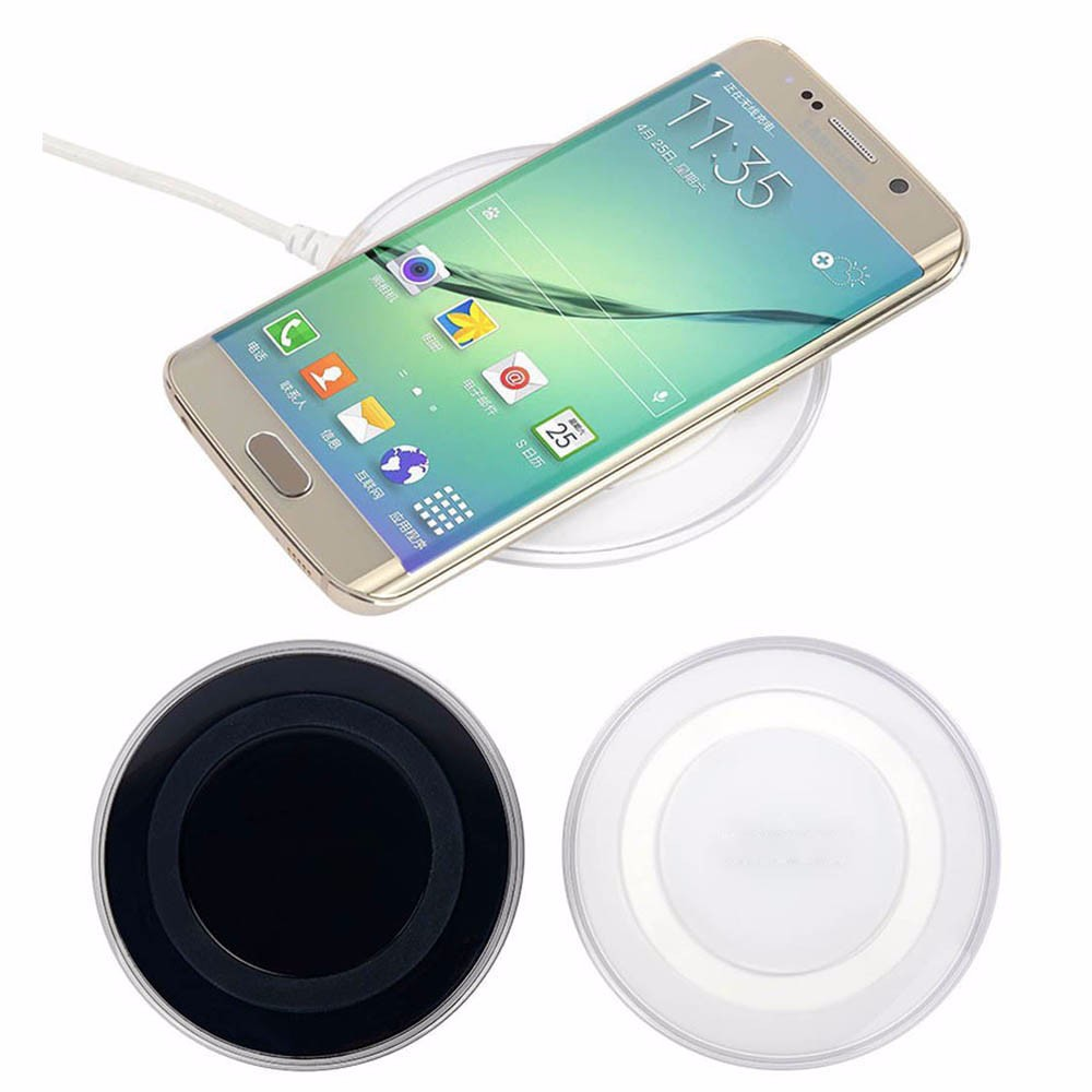 Universal Qi Charger Original 5V 2A Wireless charger For Charger Samsung Galaxy S6  Phone Charging Pad