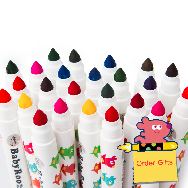 2016 Special Offer Top Fashion Joan Miro 12 Colors Watercolor Pen Child Painting Water Wash Baby Paint Brush - Stationery International Ltd. store