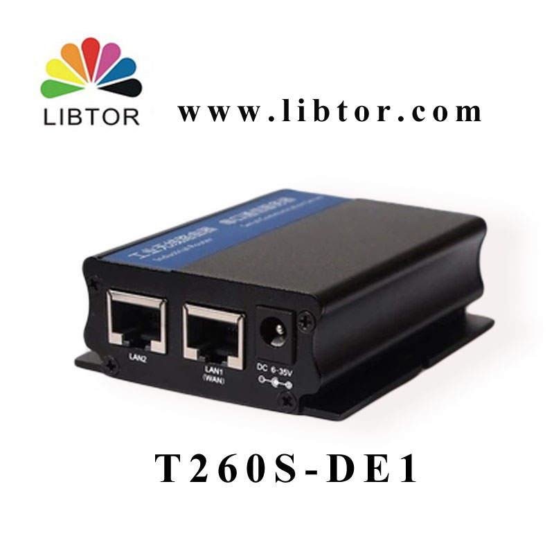 LIBTORT260S-DE1 Industrial 4G Wireless Router for TD-LTE / FDD-LTE network,Support 5 types of frequencies for M2M Communictation(China (Mainland))
