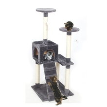 Cat Furniture – Climbing Tree with Stairs and House
