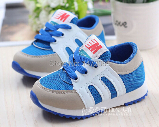 2014 newest sports shoes boys girls sports shoes for kids resize 21-25(China (Mainland))