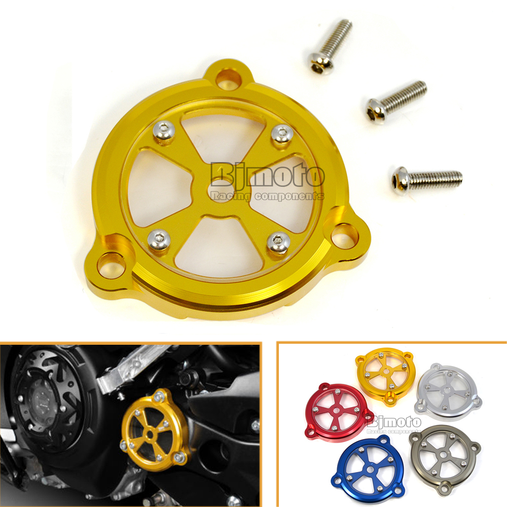 Hot Sale Gold Color Motorcycle Parts CNC Aluminum Frame Hole Cover Front Drive Shaft Cover For Yamaha T-max 530 2012-2016(China (Mainland))
