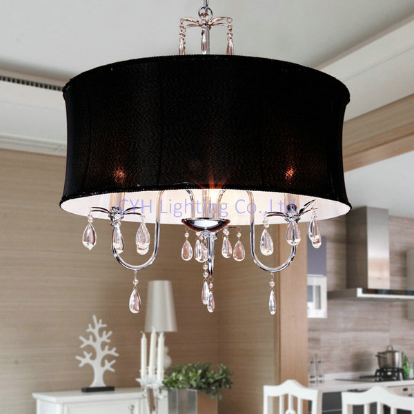 livraison gratuite restaurant de style chinois lumi re avec noir abat jour 110 v 240 v. Black Bedroom Furniture Sets. Home Design Ideas