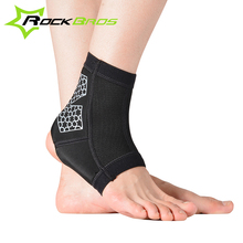 ROCKBROS Sports Ankle Support Bicycle Football Basketball Taekwondo Badminton Sport Protection Ankle Sprain Brace Guard Protect(China (Mainland))