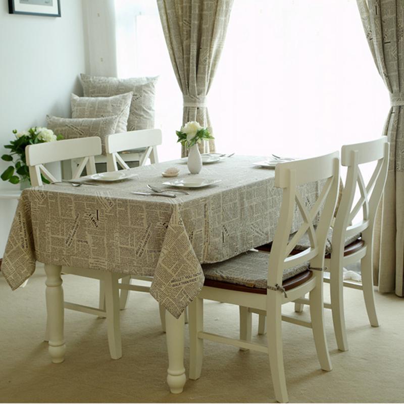 Comprar zakka estilo de lino del vintage - Mesa cocina vintage ...