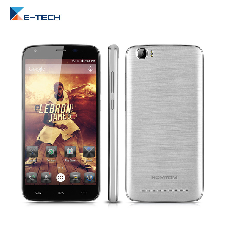 HOMTOM HT6 Cell Phone MTK6735P Quad Core 5.5 inch 1280*720 8MP Android 5.1 2GB RAM 16GB ROM 6250Mah Battery 4G LTE SmartPhone(China (Mainland))