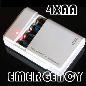1PC Hotsale! New 4X AA Battery Portable Emergency Powerbank Charger USB External Backup Power Bank - Johney yin's store