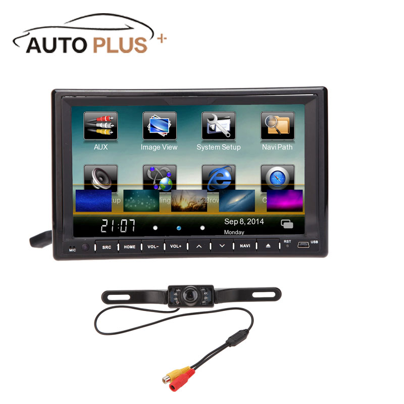 3G WiFi 7inch 2 Din HD Car DVD Player Support SD USB Bluetooth GPS Navigation Car Radio Stereo for volkswagen Opel Lada Kia Ford(China (Mainland))