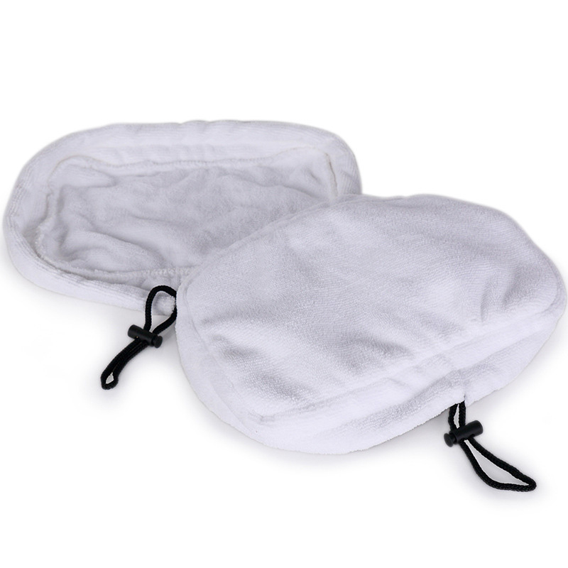 2 PCS 9in1 Microfiber Reusable Pads For H2O H20 Steam Mop Replacement Cloths Shark Mop Cloth Cover #45(China (Mainland))