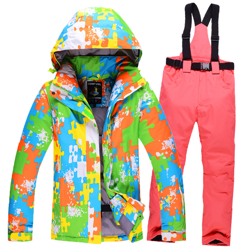 2015 new style winter man ski suit sets man skiing jacket+pants outdoor thickening warm waterproof windproof snow clothes 350(China (Mainland))
