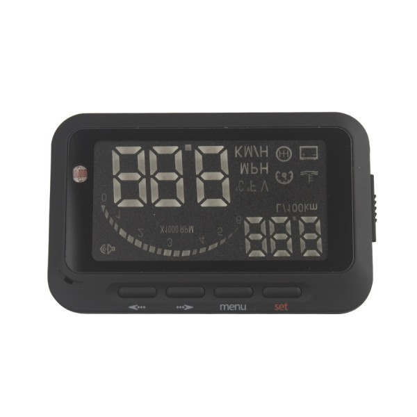2016  High Quality Universal Car HUD F02 Head Up Display With OBD2 OBDII 2.5 Inch Display System OBD Overspeed Warning<br><br>Aliexpress