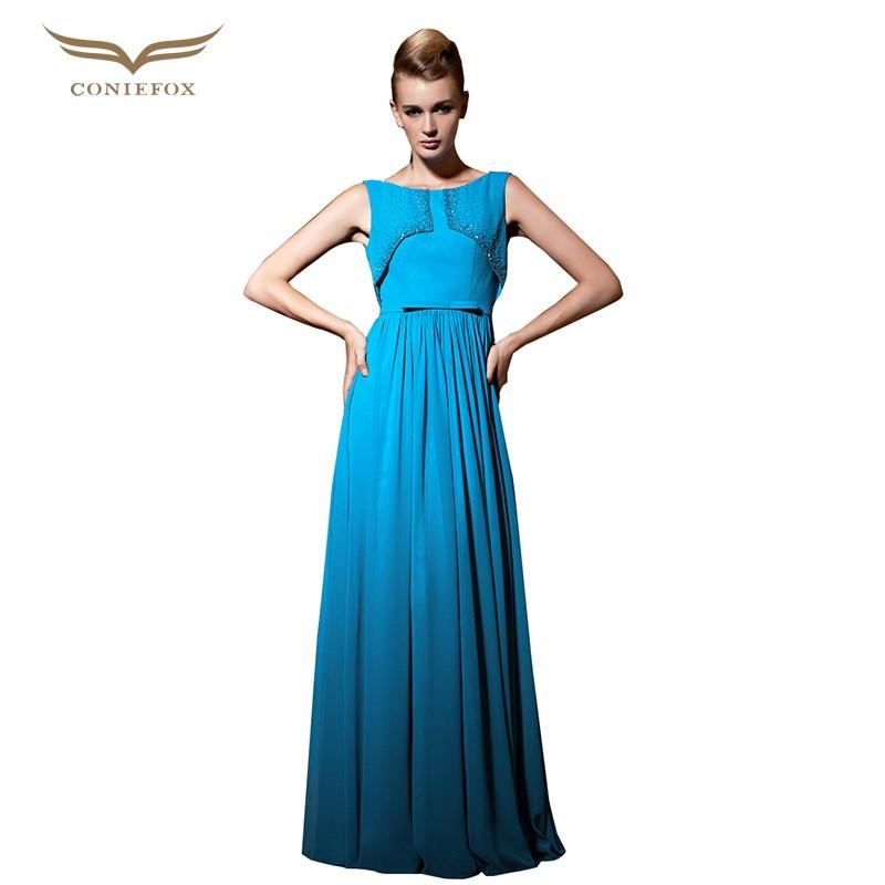 CONIEFOX Handmake Sequined Bridesmaid Dresses Scoop Neck Tow-piece Wedding Party Wear 30988(China (Mainland))