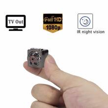 1080 P Full HD Espía Mini Cámara Oculta Niñera Micro Cámara Digital de Infrarrojos de Visión Nocturna de Detección de Movimiento Grabadora Spycam Camcordor