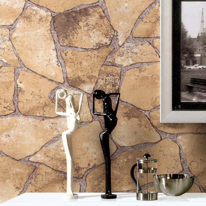.com : Koop Decoratieve vinyl behang steen patroon voor muren ...