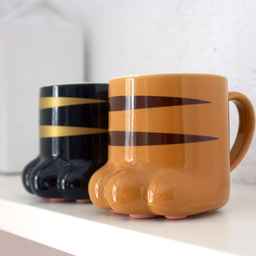 Free shipping Unique Design PAW-TY Mug Lovely Cat claw Water Cup Novelty Coffee Mug Ceramic Milk Cup Replica drink cup tea Mugs(China (Mainland))