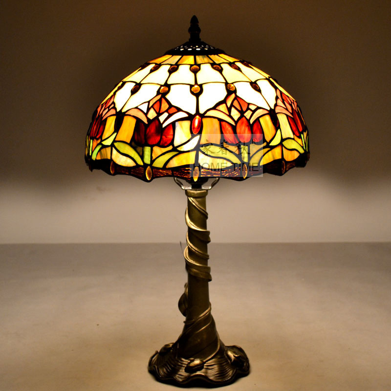 Tiffany Table Lamp Retro Romantic European Style Garden