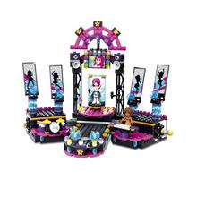 SY Pop Star Show Stage 476pcs Friends Building Blocks Figure Construction Enlighten Bricks Toys For Girls Compatible With dada