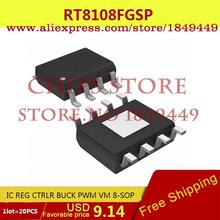 Voltage Regulator RT8108FGSP IC REG CTRLR BUCK PWM VM 8-SOP 8108 RT8108 2 - Chips Store store