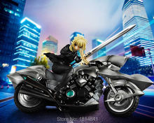Japanese Anime Fate Zero Fate Stay Night Saber lily Motored Cuirassier Model Toy For Collection