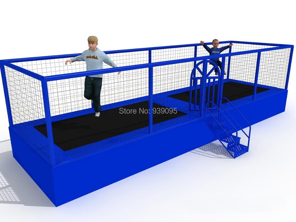 kids amusement trampoline children jumping bed kids trampoline playground parks in playground. Black Bedroom Furniture Sets. Home Design Ideas