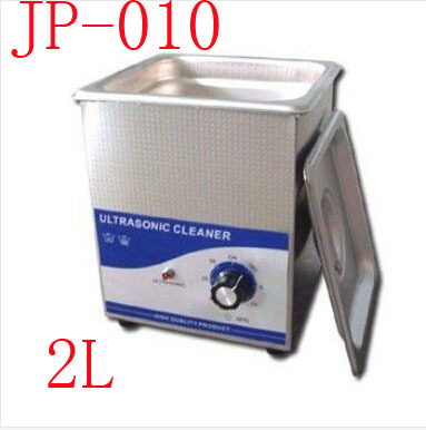 Free shipping by DHL ! New Arrival Ultrasonic Cleaning Machine JP-010 Jewellery Cleaner Ultrasonic 2L 220V(China (Mainland))