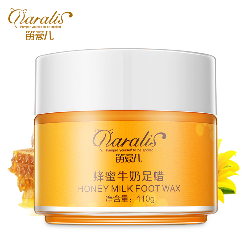 DARALIS Milk&honey wax exfoliating foot calluses and tender soft white exfoliating foot care film moisturizing Fade fine lines(China (Mainland))