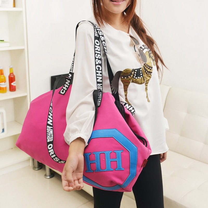 2015 Stylish Women 's Casual Bags Simple Design Large Capacity Pouch Pocket Handbags Shoulder Bag Canvas tote Wholesale ZB-135(China (Mainland))