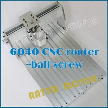 US/UK/DE/AU Delivery! 6040 CNC router Frame milling machine mechanical kit ball screw(China (Mainland))