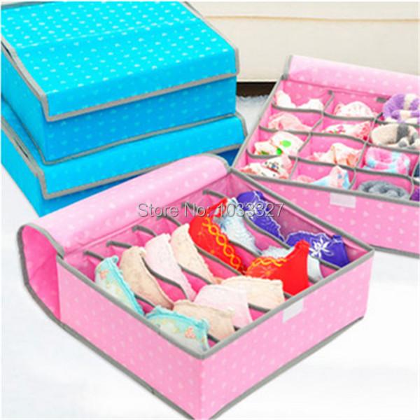 Free shipping Creative drawer style Storage Boxes For Ties Socks Shorts Bra Underwear, Multifunctional Storage Bins(Hong Kong)