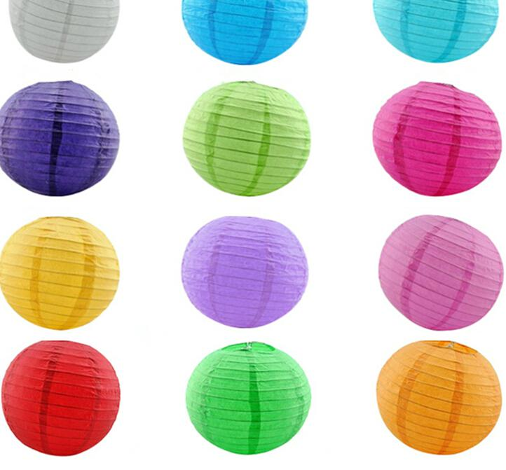 mulit color option 4 inch 10cm Round Chinese Paper Lantern Birthday Wedding Party decor gift craft DIY creavtive good quality(China (Mainland))