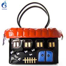 2016 new fun house style sweet cartoon house bags women Messenger shoulder bags Handbags Famous Brand Ladies Designer Women Bags