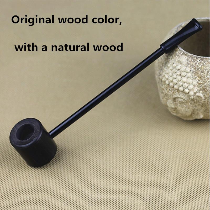 Grade Ebony Wood Pipe Smoking Pipes Popeye Portable Creative Smoking Pipe Herb Tobacco Pipes Gifts Narguile Weed Grinder Smoke(China (Mainland))