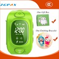 Hot Watch Phone GPS Tracker Smart Watch for Kids Smartwatch Waterproof SIM Silicone Band LED Reloj