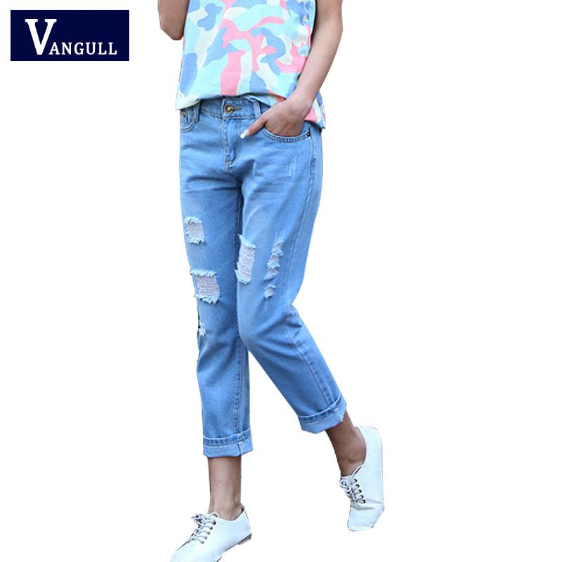 Promoci n de mujeres pantalones vaqueros de carga compra for Agujeros femeninos