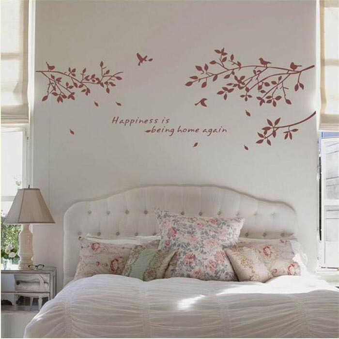 Http Www Aliexpress Com Item Removable Diy Twig And Bird Wall Sticker Vinyl Home Decor Wall Stickers Vinyl Tree Wall Decals 32345021731 Html