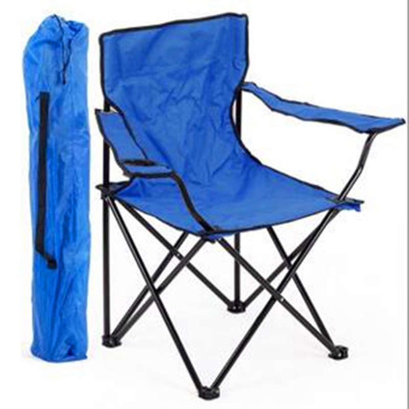 Portable Fishing Chair Metal Lightweight Folding Camping Chairs Single Person