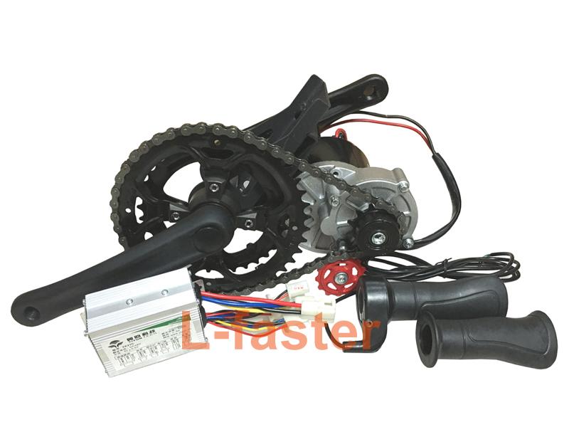 48V 450W ELECTRIC MOUNTAIN BIKE MID-DRIVE CONVERSION KIT ELECTRIC BIKE KIT DIY E-BIKE PARTS HOMEMADE POWERFUL ELECTRIC VEHICLE(China (Mainland))