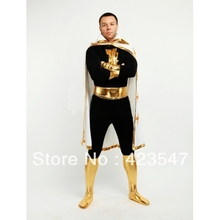 Captain Marvel DC Comics Marvel Family Black Adam Superhero Costume Halloween Costumes