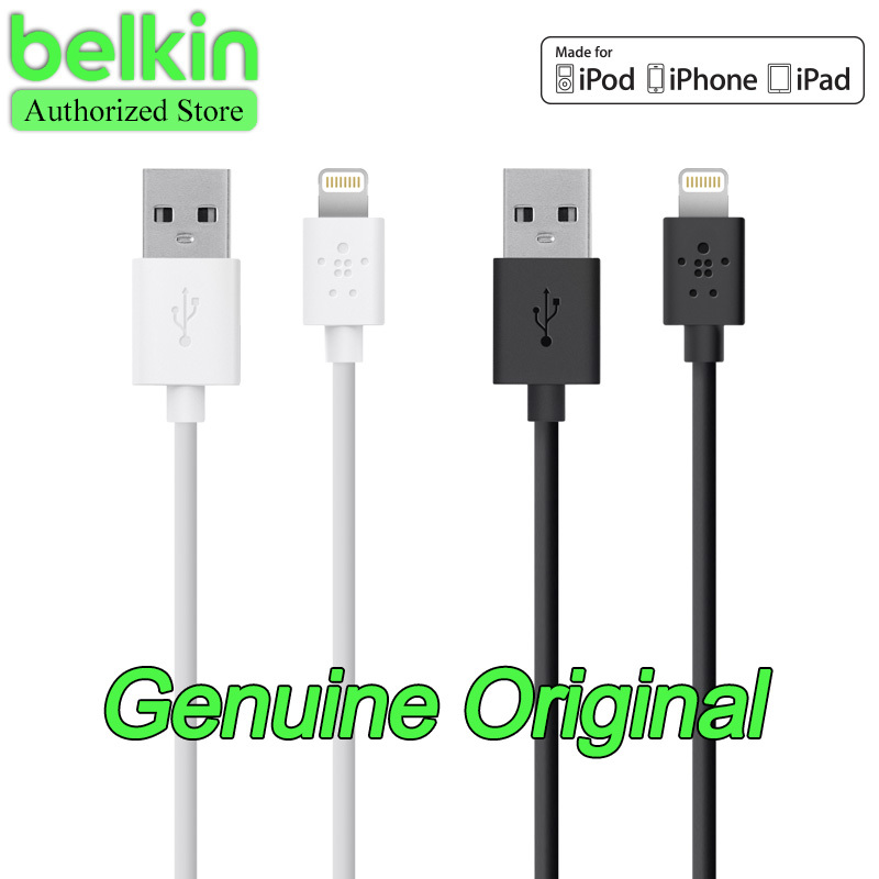 1.2m Belkin Original MFi Certified 8 pin Lightning to USB Cable (charge+sync) for iPhone 6 Plus 5s with Retail Packaging(China (Mainland))