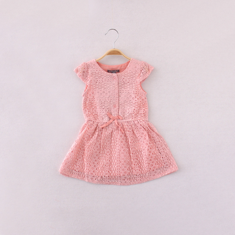 2015 Girl Dresses Lace Vetement Enfant Fille Princess Girl Party Dress Baby Girls Children Clothing Kids Clothes Wholesale<br><br>Aliexpress