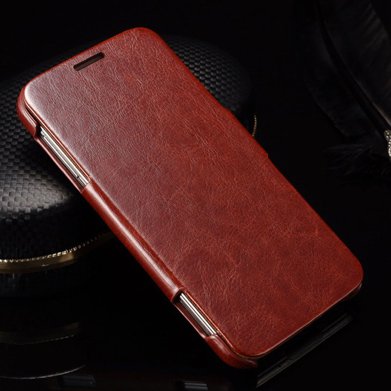 Vintage PU leather Case For Samsung Galaxy S5 i9600 Coque With FASHION Logo Phone Bags & Cases Business Style Flip Cover(China (Mainland))