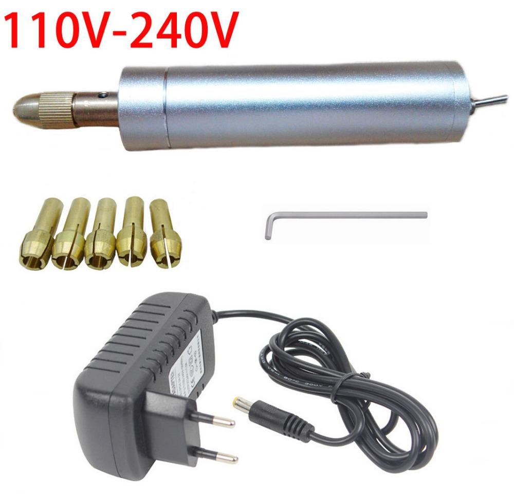 2016 New Design 1set Mini Drilling Machine Mini Dremel Power Tools Electric Mini Polishing Machine (DC 5V 3A) Free Shipping(China (Mainland))