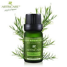powerful acne remover! 100% Pure tea tree essential oil for acne treatment and Remove whelk shrink pore face care tea tree oil(China (Mainland))