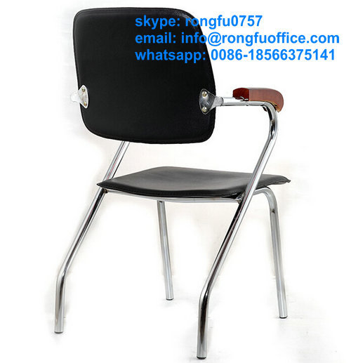 Office chairs,visitor chrome frame chair,conference seating made in china(China (Mainland))