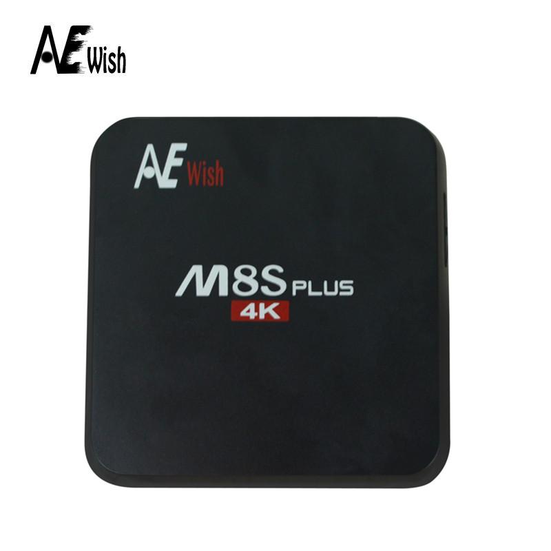 Anewish M8S Plus Android TV Box S905 android 5.1 quad core 1000M 2GB/16GB KODI16 media player better than mini m8s set top box(China (Mainland))