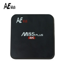 Anewish M8S Plus Android TV Box S905 android 5.1 quad core 1000M 2GB/16GB KODI16 media player better than mini m8s set top box(China (Mainland))