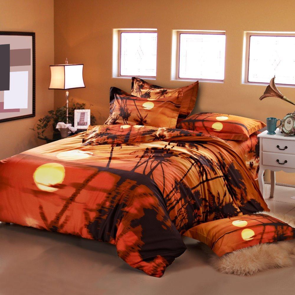 2015 hot 3d bedding set king size bed linen include duvet - King size bed sheet set ...