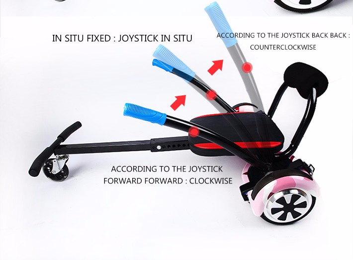 Factory Direct  No tax Hoverboard Go Kart Conversion Kit for Self balance Scooter All Ages Self Balancing overboard -HoverBoard